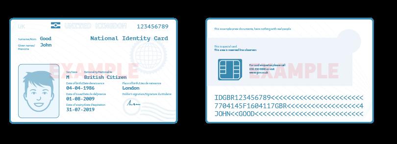 Answer for Какие требования в отношении документов на удостоверение личности